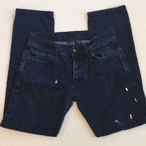 Armani Exchange Dark Wash Men's Jeans Sz. 29 Short